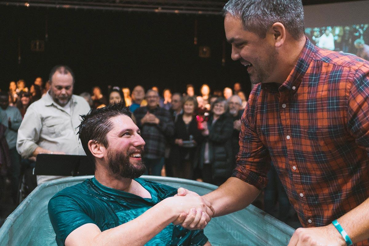 Jason Greene in Baptism